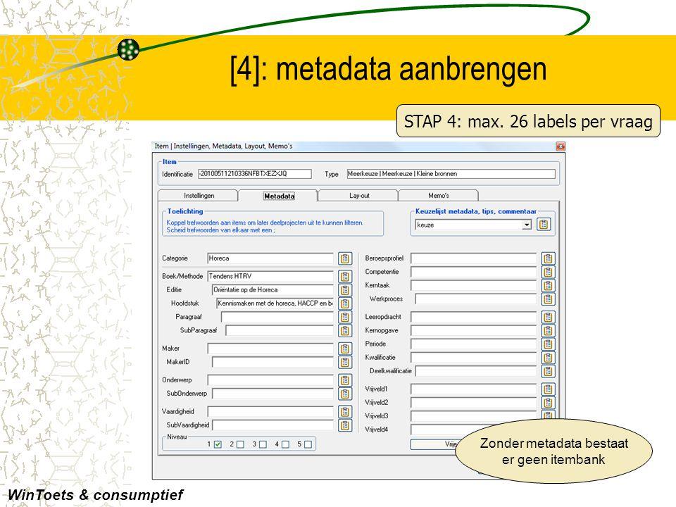 [4]: metadata aanbrengen